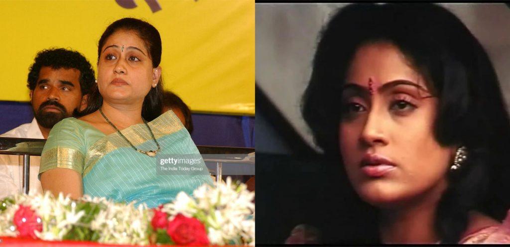 Actress Vijayashanthi reveals the reason why she didn't ...Vijayashanthi Kids